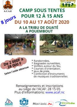 acaf-flyer-camp-boisdusud-aout-2020
